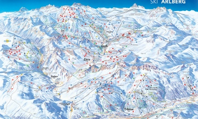 St. Anton am Arlberg Map